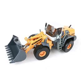 KDW 1:50 Alloy modelo de carro Diecast Empilhadeira Construction vehicle Collection decoração crianças brinquedos Presente para crianças de