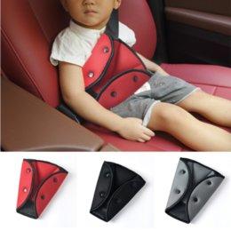 Red Children/'s car safety seat belt adjuster Kids Safe Fit Seat Belt Adjuster