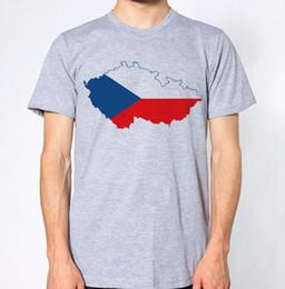 Czech Republic New T-Shirt Country Flag Top City Map