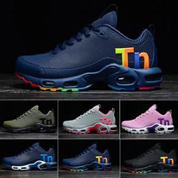 Оригинальные женские мужские Mercurial Tn Plus кроссовки Chaussures Femme TN дизайнерские кроссовки Kpu кожа женщина спортивные тренеры сетка обуви 36-40 от