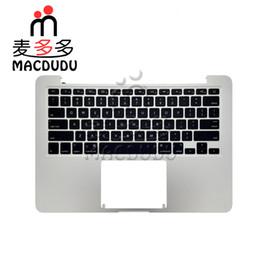 cassa superiore per macbook Sconti Nuova tastiera degli Stati Uniti con Top Case 2015 Anno per Macbook Retina A1502 Topcase Top Case 2015 anni