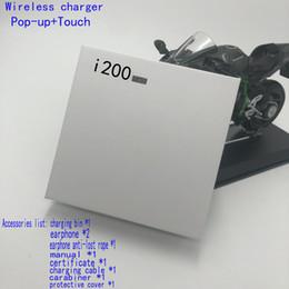 Air 2 Auricolare i200 TWS Bluetooth con sensore Pop up Batteria reale Capacità Auricolare senza fili Auricolari vs i99 i88 i70 i99 i100 tws da auricolari piatti colorati fornitori