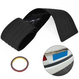 Revestimiento de goma online-Tronco del coche Parachoques trasero Sill / Protector Placa Cubierta de goma Guardia Pad Moldura Moldura ~