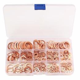 280pcs / set cuivre rondelle simple rondelles avec boîte appropriée pour vis boulons attaches 12 tailles en métal ou anneaux de plomberie ensemble ? partir de fabricateur