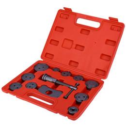 pompe a pistone Sconti 12pcs universale pistone auto pompa freno freno a disco di precisione pinza automatica kit di strumenti antivento posteriore kit di strumenti di riparazione auto