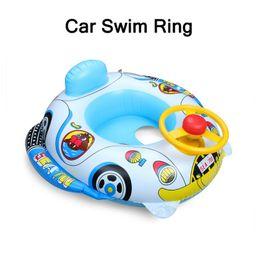 2019 juguetes de barco para niños Piscina para bebés Flotador Inflable Anillo de baño infantil Asiento Flotador Barco Piscina Juguete para bebés Niños juguetes de barco para niños baratos