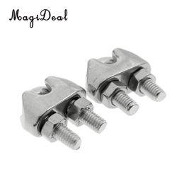 Attache de câble en acier inoxydable MagiDeal 2 pièces M4 de 5/32 po en acier inoxydable avec serre-câble pour câble 4 mm ? partir de fabricateur