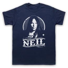 2019 rock-gitarren-t-shirts NEIL YOUNG TRIBUTE UNOFFICIAL FOLK ROCK LEGENDE GUITAR ERWACHSENE KINDER T-SHIRT Größe discout heißes neues T-Shirt lustiges T-Shirt aus 100% Baumwolle günstig rock-gitarren-t-shirts