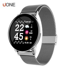 2019 частота сердечных сокращений W8 Женщины Смарт Часы IP67 Браслет водонепроницаемый Heart Rate погоды SmartWatch для Samsung Huawei Watch PK Активный Гир Watch скидка частота сердечных сокращений