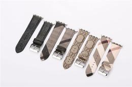 Зрелая кожа онлайн-Зрелый устойчивый сдержанный бизнес-ремень из натуральной кожи для Apple Watch Band 42мм 38мм 40мм 44мм для iwatch ремешок для часов повседневный стиль удобный