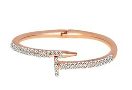 Bracelet en cristal de mode pour femme Zircon pavé rond argent couleur or femme punk Bracelets Bracelets ZK20 S915 ? partir de fabricateur