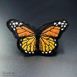 patch di ferro a farfalla Sconti Farfalla gialla (Dimensione: 5.0X8.0cm) Ricamo DIY Patch Applique Vestiti Stiratura Abbigliamento Forniture per cucire Decorativo