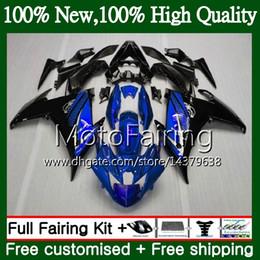 Argentina Cuerpo para YAMAHA FZ6N FZ6 R FZ6R 09 10 11 12 13 14 15 94MF17 Azul negro FZ-6R FZ 6R 2009 2010 2011 2012 2014 2014 2015 Carenado Carenado cheap yamaha fz6r black fairing Suministro