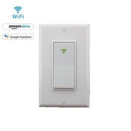 Wifi ac онлайн-Сделано в Китае FCC и RoHS сертифицированный WIFI AC 1gang выключатель питания для умной домашней автоматизации