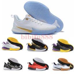 2019 Nouveau Kobe Mamba Focus EP Chaussures De Basket ball de Haute Qualité Noir Blanc Athlétique Sports Trainers Baskets Hommes Designer Sneakers