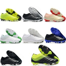 Chaussures de football 2019 nouvelle arrivée mens Copa Mundial FG football crampons chaussures de football Copa 19 FG Tacos de futbol