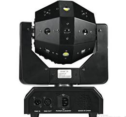 2019 montrer l'équipement 16x3w tête mobile lumière RGBW faisceau laser Strobe lumière Football DMX512 DJ Bar Show Show Équipement de Scène LLFA montrer l'équipement pas cher