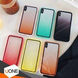 Caso di arcobaleno trasparente di iphone online-Per il nuovo iPhone 11 Pro XR X pacchetto XS MAX Arcobaleno chiaro TPU Protector copertura completa di pendenza della cassa antiurto Phone colore trasparente