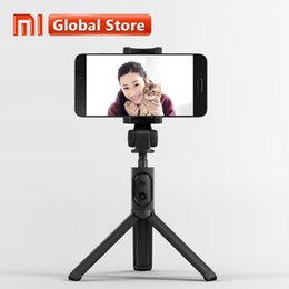 2019 selfie stick bluetooth inalámbrico plegable Trípode plegable original Bluetooth Selfiestick con obturador inalámbrico Selfie Stick para Iphone Android Xiaomi Q190618 rebajas selfie stick bluetooth inalámbrico plegable