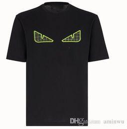 Canada 19ss marque designer t-shirts pour hommes femmes mode rivet petit monstre sac bugs yeux imprimer t-shirt hommes luxe hip hop casual tops t-shirts cheap casual mode men Offre