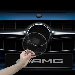 camuflagem Desconto Emblema logotipo acrílico capa protetora anti-risco Anti-ladrão anti-corrosão para Mercedes Benz A B CLS GL GLK GLA
