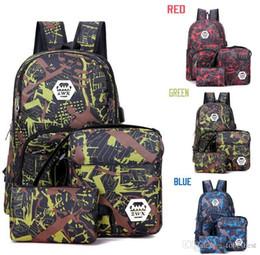 Mejores mochilas al aire libre online-Mejor al aire libre de camuflaje bolsa de ordenador mochila de viaje cadena de Oxford freno bolsa de estudiante de escuela intermedia muchos colores