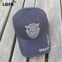 Gorras de béisbol fuerzas especiales online-lgfDC1754 tamaño grande MÁS 65 cm 62 cm 58 cm SNAPBACK cabeza especial tamaño XL fuerza especial Six Panels algodón gorra de BÉISBOL