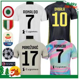 fc964420725 women sports jersey Coupons - 18 19 RONALDO DYBALA PJANIC COSTA soccer  jersey 2018 2019 JUVENTUS