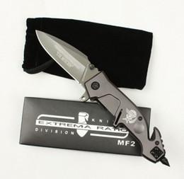 funções da faca do exército suíço Desconto EXTREMA RATIO MF2 X02 ajudar rápido punho de aço aberto tático faca faca de presente de natal para homem coleção faca 1 pcs FREE SHIPPIN