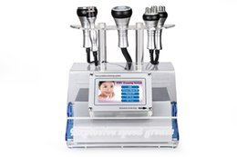 Sistema de cuerpo de la máquina online-5 en 1 máquina de alta velocidad del RF del sistema de la cavitación del vacío para FaceBody que adelgaza la terapia del vacío de la radiofrecuencia del RF
