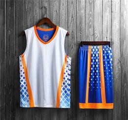 b7252f616 Discount new jersey basketball uniforms - New Style Basketball Uniform Sets  Sports Jersey For Men 13