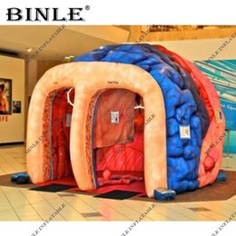 Giant Pop Up Inflatable Medical Tent For Outdoor Advertising