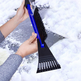 9c2bc2c1d8d Free Shipping 2 IN 1 shovel Car Vehicle Durable Snow Ice Scraper Snow Brush  Shovel Removal For Winter
