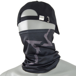 Watch Dogs Aiden Pearce Face MASK Scaldacollo Video Game Cosplay Sciarpa Maschera + maschera da