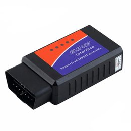 battery honda Coupons - Ferrari Motors Car inspection tool Mini OBD2 ELM327 V2.1 Bluetooth Car Scanner Torque Android Auto Scan Tool diagnostic scanner for car