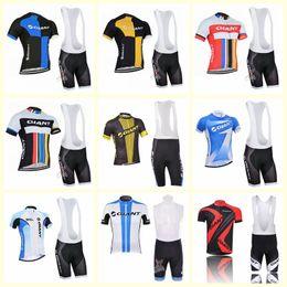 équipe cycliste saxo bank Promotion GIANT équipe cyclisme manches courtes en jersey cuissard ensembles hommes vêtements de vélo chaud été indispensable E0544