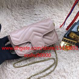 Canada Nouvelle mode en cuir véritable femmes mini sac à bandoulière mode été samll sac bandoulière avec chaîne 476433 Offre