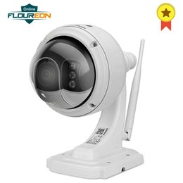 cctv micro sd card Coupons - FLOUREON 1.3MP 960P 1280*960 Wifi H.264 Wireless CCTV Security TF Micro SD Card IP66 AP Mode Built-In Mic Dome PT IP Camera EU