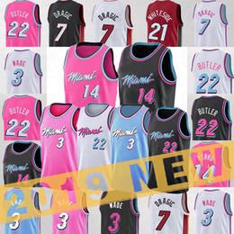 vadear baloncesto Rebajas 22 Mayordomo Jersey 7 Dragic 3 Wade Jersey jerseys de baloncesto de la NCAA College New JERSEY 2019 de baloncesto de la universidad