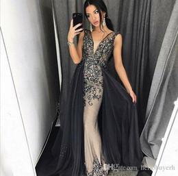 Sexy sirène Tulle robes occasion spéciale robes de bal diamants longue livraison gratuite dubai kaftan abaya formelle robes soirée plus la taille ? partir de fabricateur
