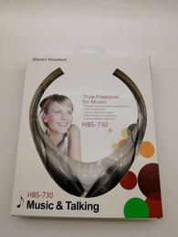 Brandneue, einzigartige Ring-necked Design Tone HBS-730 Wireless Stereo-Headset für LG iPhone Samsung White von Fabrikanten