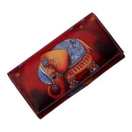 Модные женские кошельки, сумки, портмоне, монеты с принтами животных, милые слоны, длинные клатч-кошельки, карманы для денег от