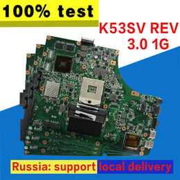 mainboard para laptop Desconto K53SV Motherboard REV 3.0 1 GB GT520M Para ASUS K53SV K53S K53S A53S K53Sj Laptop motherboard Mainboard