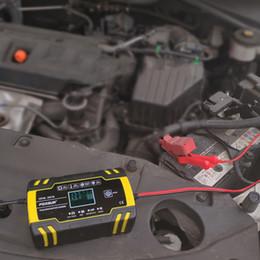 12V 8A 24V 4A Caricabatteria per auto riparazione impulsi Ricarica rapida intelligente per AGM GEL WET Caricabatteria al piombo con display LCD da xiaomi mi box fornitori