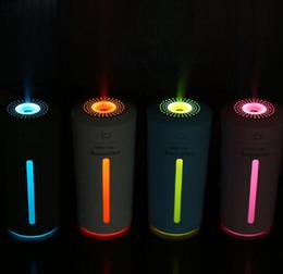 humidificateur à humidité chaude nouveau Promotion Nouvelle arrivée 230ML USB humidificateur à ultrasons LED Diffuseur d'arômes Difusor De Aroma Diffuseur d'huile essentielle Aromathérapie Mist Maker
