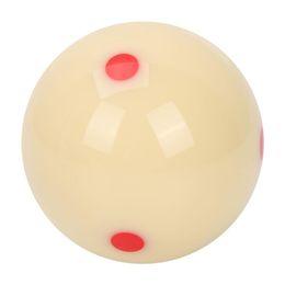 2019 взрослый пул 5.72cm Resin Billiard Training Ball Nine-ball Red Dot-Spot Practice Pool Balls for Adults Kids дешево взрослый пул