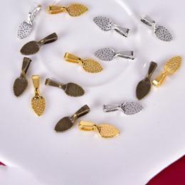 Alliage 50pcs Pinch Clip Fermoir Caution Collier Pendentif À faire soi-même Jewelry Making Accessoire