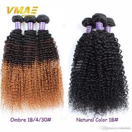 Ombre Sarışın Brezilyalı Saç atkı Brezilyalı Sapıkça Kıvırcık Bakire Saç Üç Ton 1b 4 30 Ombre Sapıkça kıvırcık örgü İnsan saç uzantıları nereden sarışın ombre bakire saç tedarikçiler