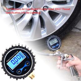 Размер резьбы Давление воздуха в шинах Инструмент с цифровым дисплеем от