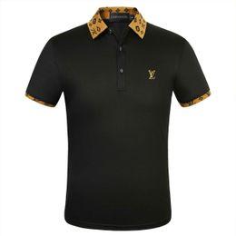 polo design Promotion 19SS luxe marque Italie Design Polo Sweat-shirt ras du cou Pull Fashion Pull LVT-shirt Polo